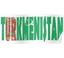Turkmenistan Poster