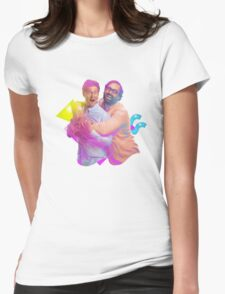 tim and eric awesome show (fixed/better) Womens Fitted T-Shirt