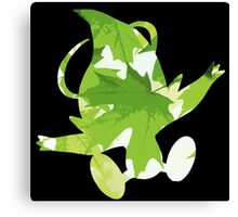 Celebi used leaf storm Canvas Print