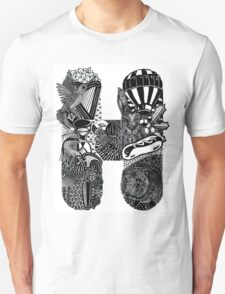 Letter H T-Shirt