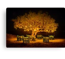 The golden tree of Naxos Canvas Print