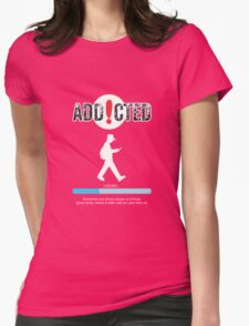 Poke Go Addicted Womens Fitted T-Shirt