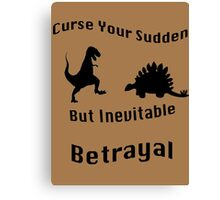 Inevitable Betrayal Canvas Print