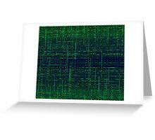 sci-fi wave Greeting Card