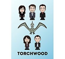 Torchwood team (print or card) Photographic Print