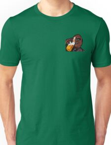 Morpheus Drinking a Forty in a Death Basket  Unisex T-Shirt