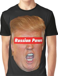 Russian Pawn Graphic T-Shirt