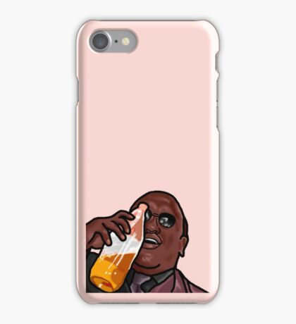 Morpheus Drinking a Forty in a Death Basket  iPhone Case/Skin