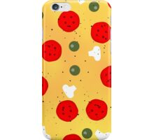 Cool and fun vector pizza iPhone Case/Skin