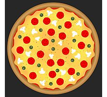 Cool and fun vector pizza Photographic Print