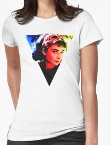 audrey hepburn  Design Womens Fitted T-Shirt