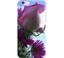 Flowers in the Sky iPhone Case/Skin