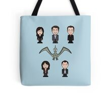 Torchwood team (pillow or tote) Tote Bag