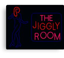 Jiggly room Canvas Print