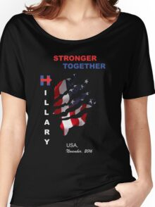 ROAD TO PRESIDENT USA 2016 Women's Relaxed Fit T-Shirt