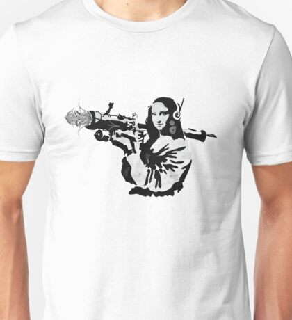 mona flower launcher  Unisex T-Shirt