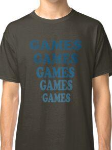 Adventureland - Games Games Games Games Games Classic T-Shirt