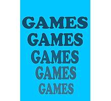Adventureland - Games Games Games Games Games Photographic Print