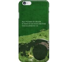 The Fellowship of the Ring inspired design. iPhone Case/Skin
