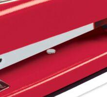 Swingline Red Stapler Pattern Sticker