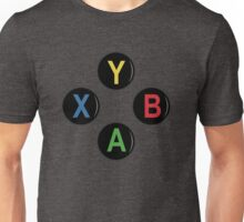 Xbox One Buttons - Minimalist Unisex T-Shirt