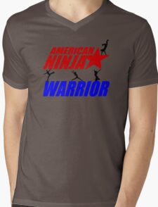 Ninja warrior Mens V-Neck T-Shirt