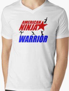 Ninja warrior Mens V-Neck T-Shirt