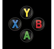 Xbox One Buttons Photographic Print