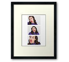 Miranda Sings Framed Print