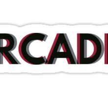 ARCADIA overlap  Sticker