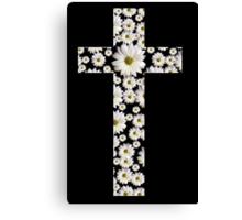 Daisy Cross Canvas Print