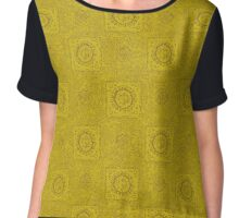 Mustard Bliss Chiffon Top