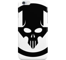 Blacklight Skull iPhone Case/Skin