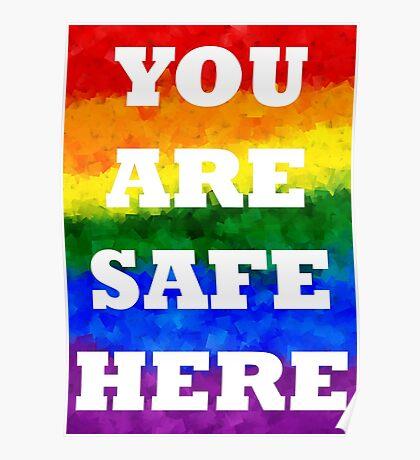 Safe Space Poster V. 3 Poster