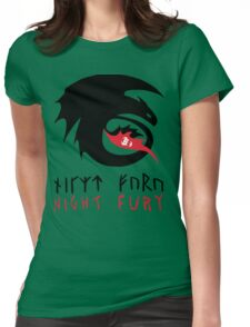 NIGHT FURY - Strike Class Symbol Womens Fitted T-Shirt
