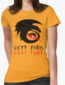 NIGHT FURY - Strike Class Symbol Womens Fitted T-Shirt