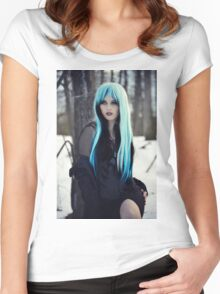 Earth Witch Women's Fitted Scoop T-Shirt