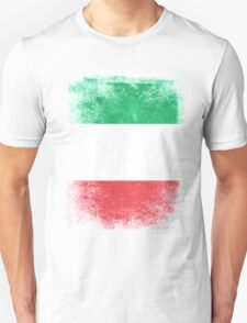 Italy Flag Proud Italian Vintage Distressed  Unisex T-Shirt