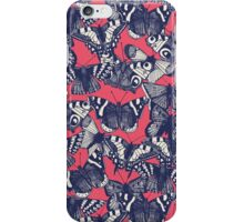 butterfly strawberry pink iPhone Case/Skin
