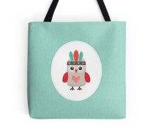 Hipster Owlet Mint Tote Bag