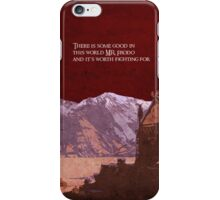 The Two Towers inspired design. iPhone Case/Skin