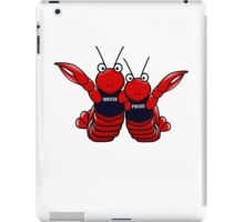 She's his lobster iPad Case/Skin