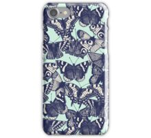 butterfly pale mint iPhone Case/Skin