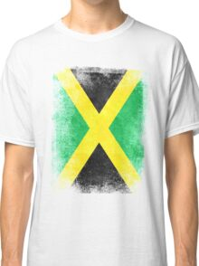 Jamaica Flag Proud Jamaican Vintage Distressed Classic T-Shirt