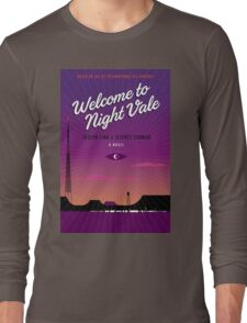 Welcome to Night Vale Drawing Poster Long Sleeve T-Shirt