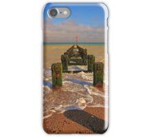 Groyne at the North Beach Bridlington iPhone Case/Skin