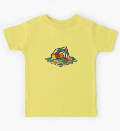 Rubik's Cube Kids Tee