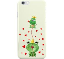 Kiss me Princess iPhone Case/Skin