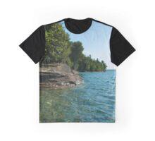 Grand Island Shoreline Graphic T-Shirt