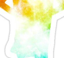 Rainbow Galaxy Dobby Sticker